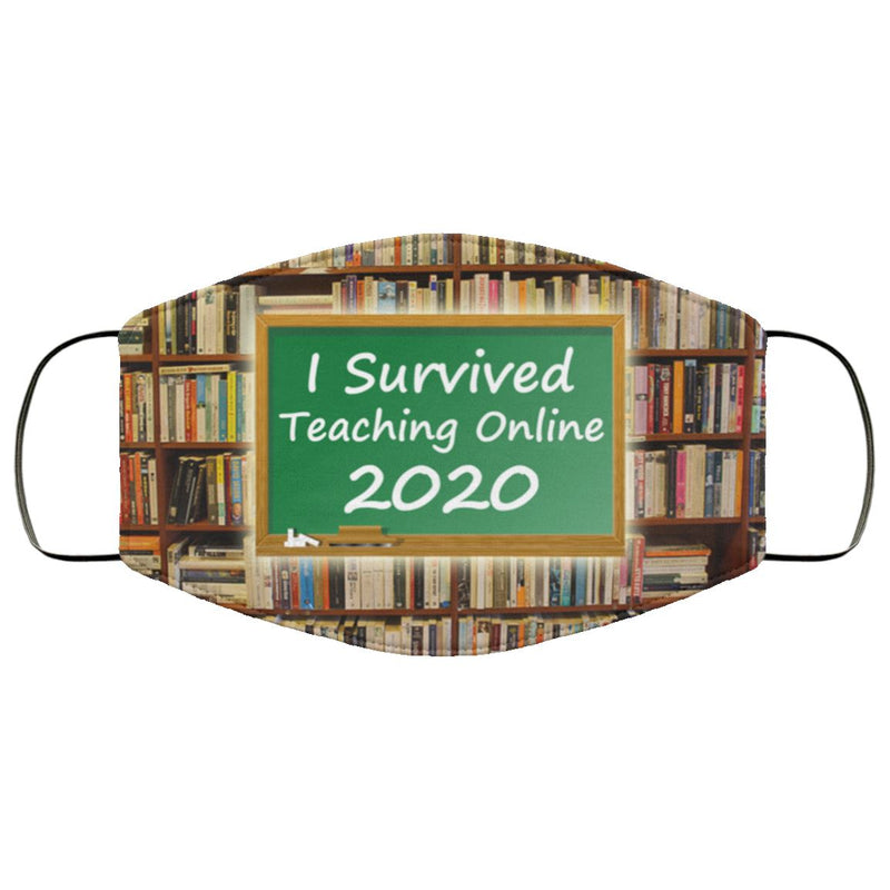 Online Teacher 2020 Face Cover
