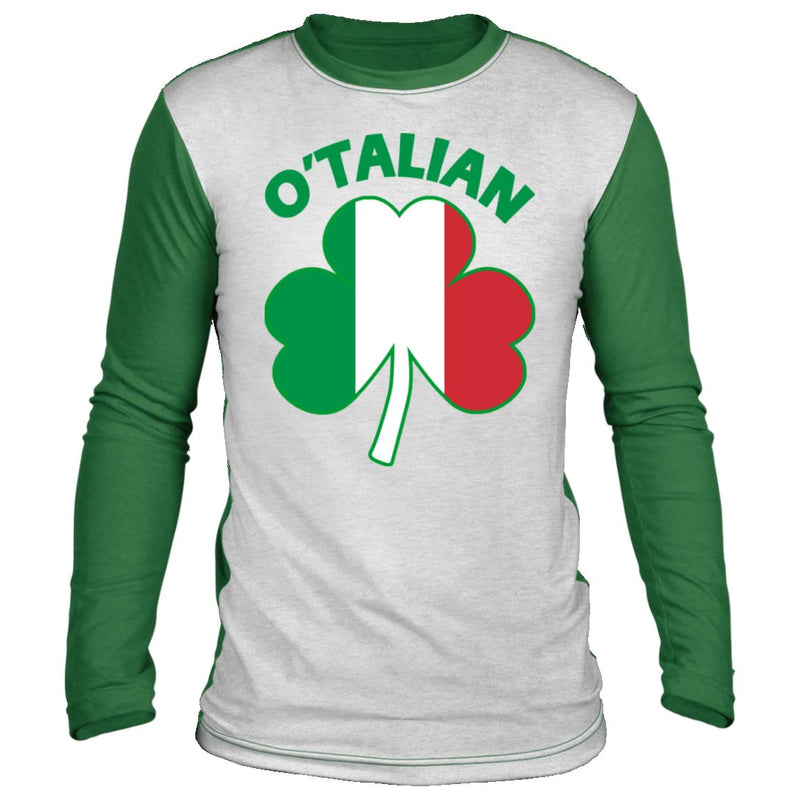 O'Talian St Patrick's Day Long Sleeve Shirt