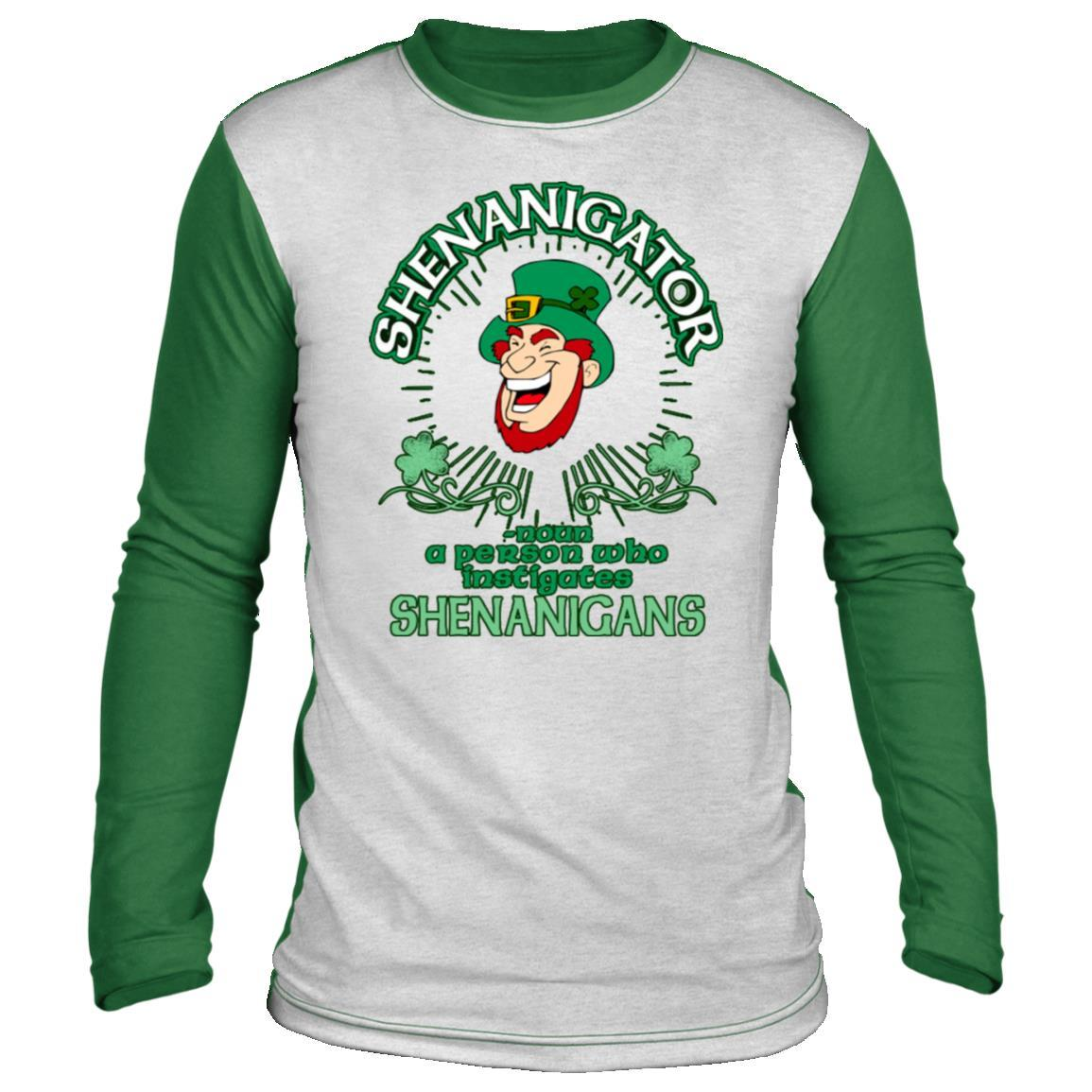 Shenanigator St Patrick's Day Long Sleeve Shirt