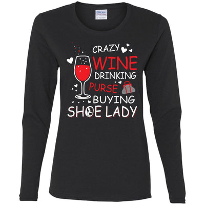 Crazy Wine Lady Shirts