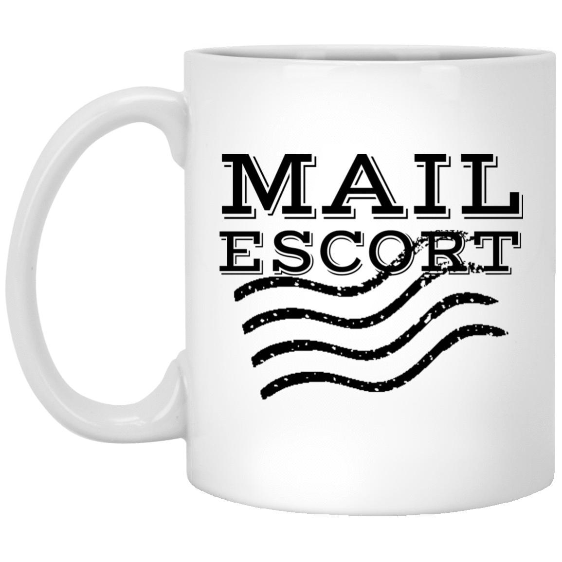 Mail Escort Mug - Mail Carrier Mug