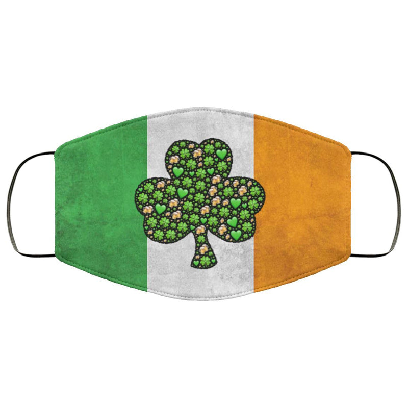 Irish Flag Face Cover