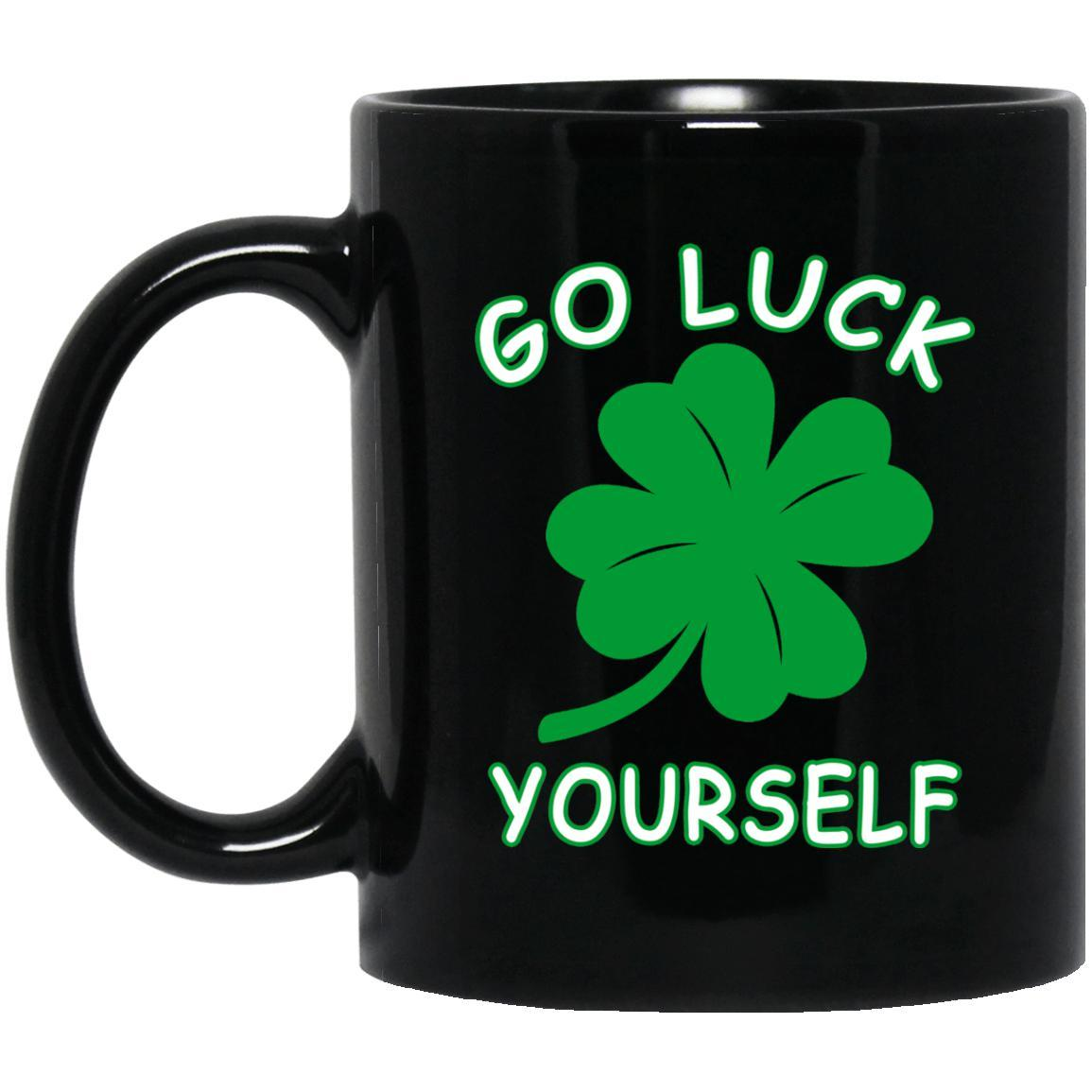 Go Luck Yourself Mugs