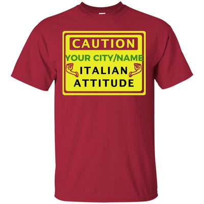 Custom Caution Italian Shirts