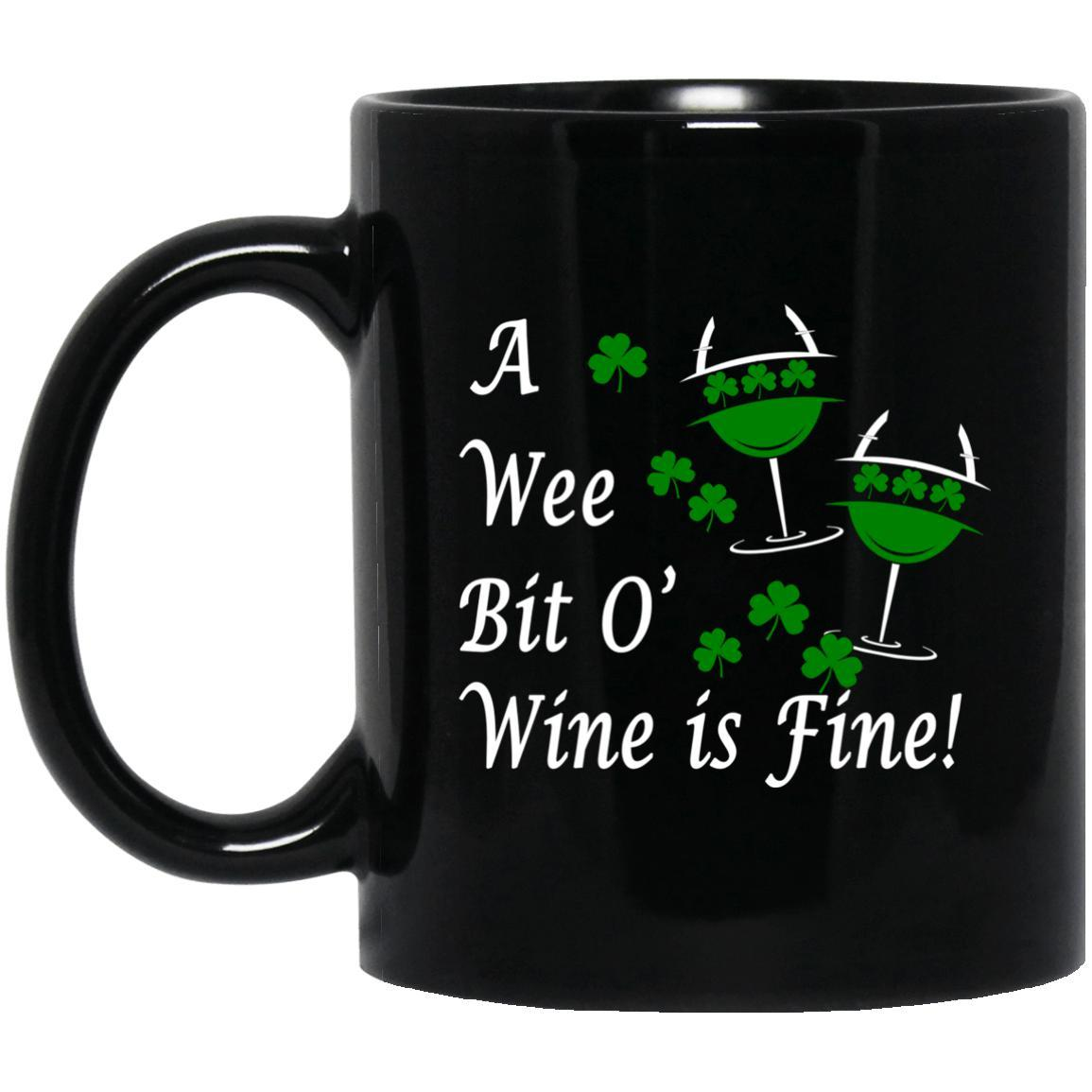 Wee Bit of Wine Mugs