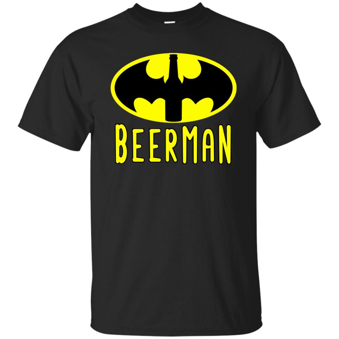 Beerman Beer Shirt for the Beer Lover