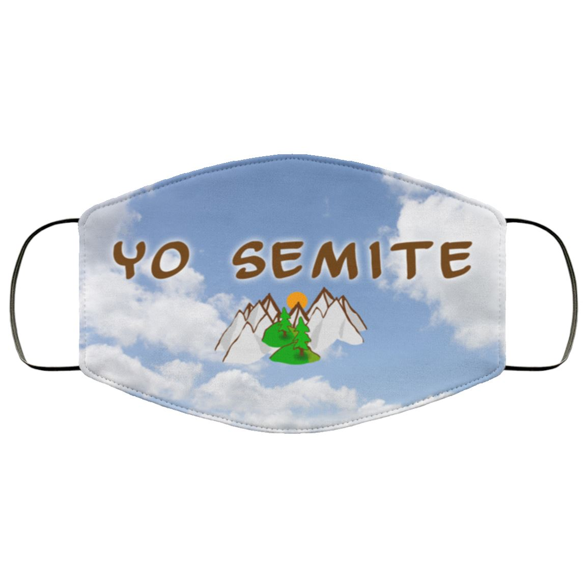 Yo Semite Face Mask