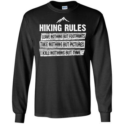 Hiking rules, hiking shirt