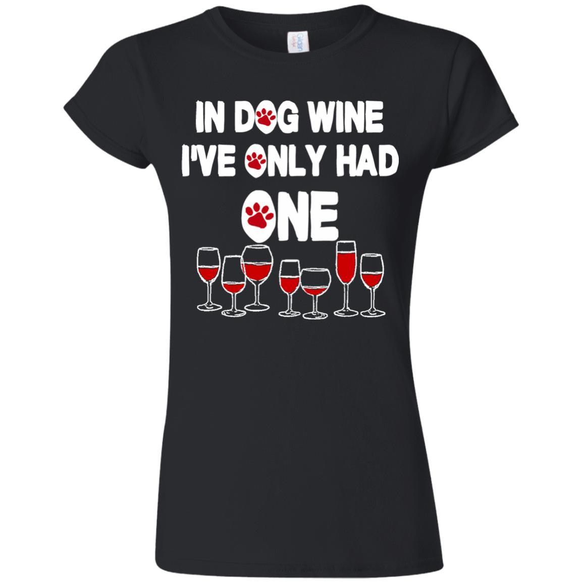 Dog Wine Shirts