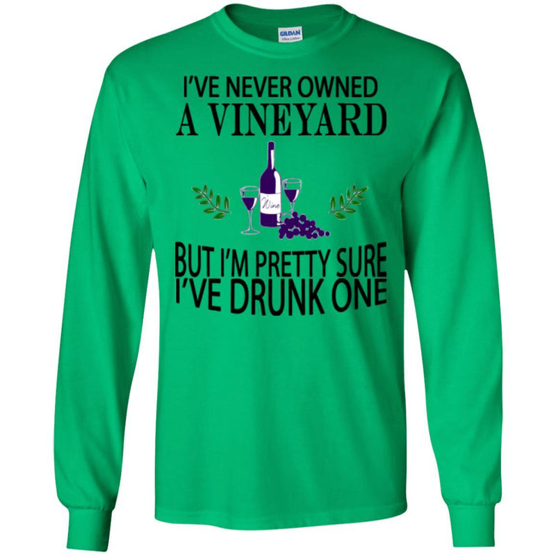 Drunk a Vineyard Wine Shirt
