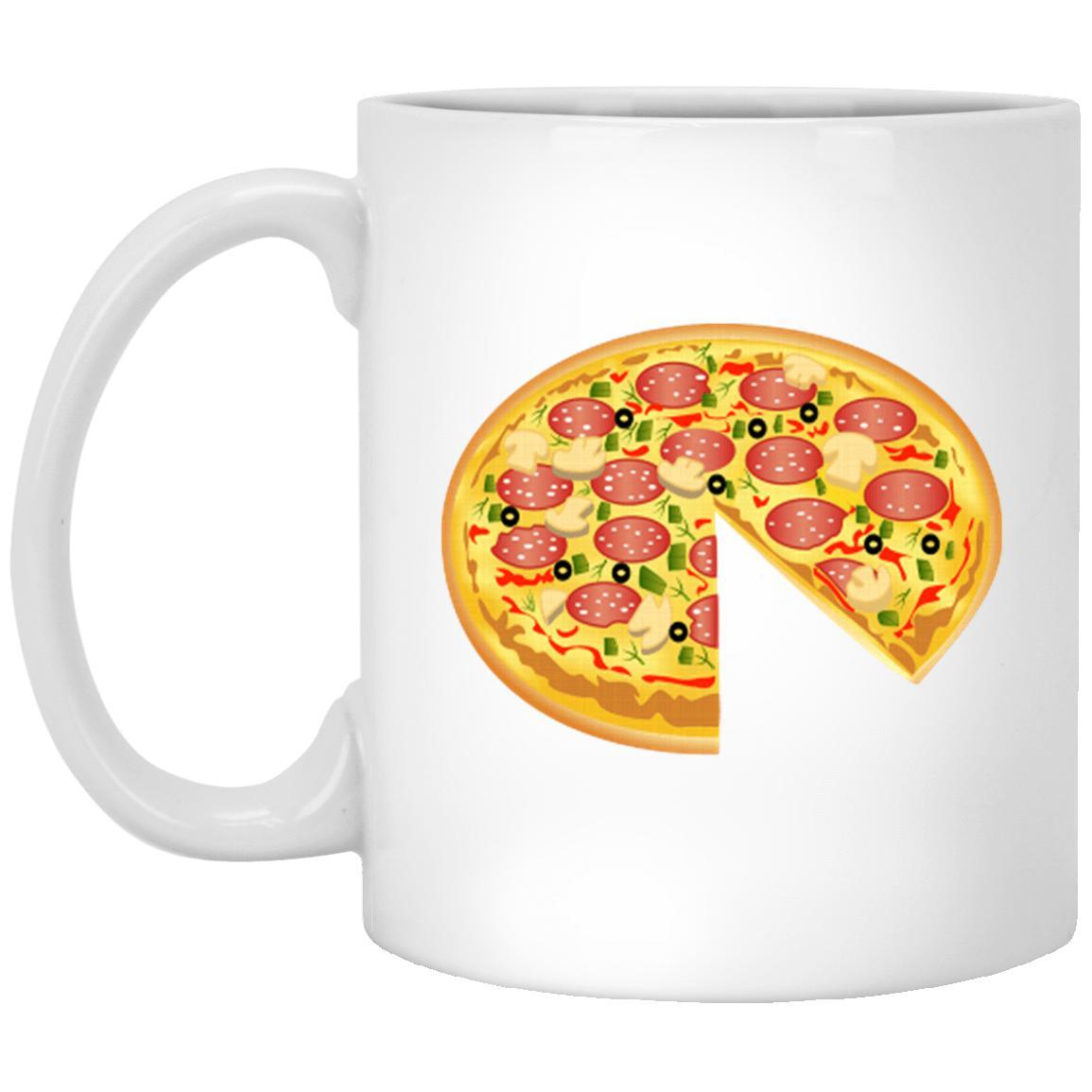 Whole Pizza Mugs