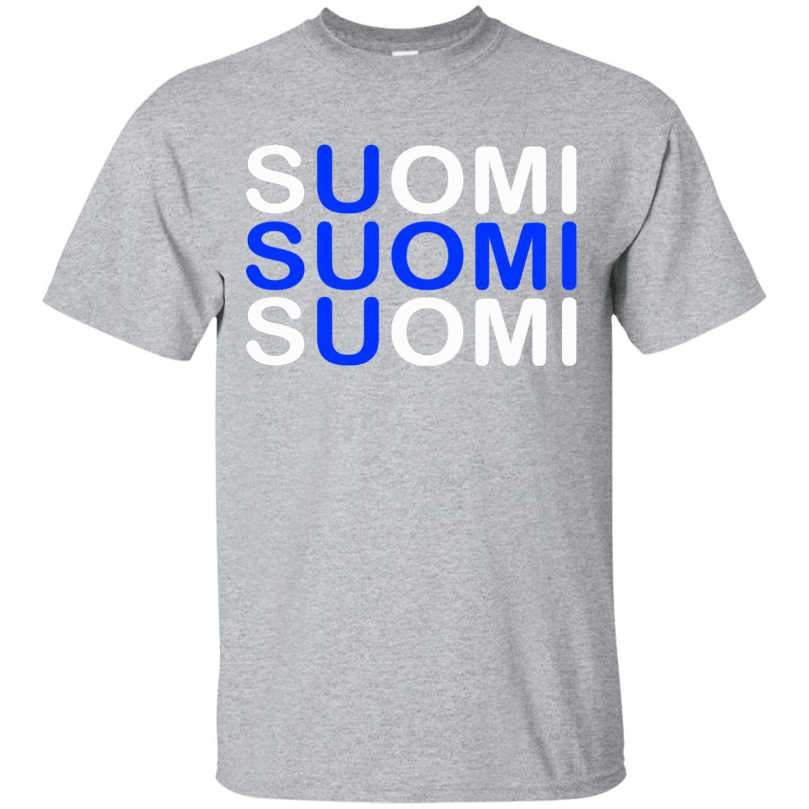 SUOMI Flag Shirt Finnish