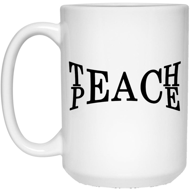 Teach Peace Mugs