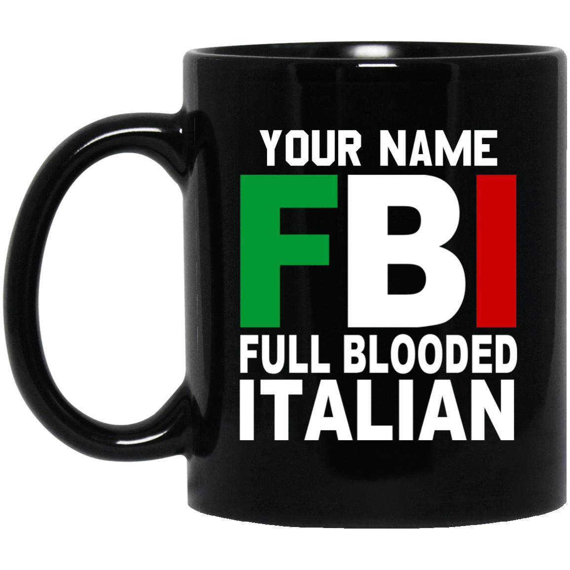 Customize with your name - FBI Mugs