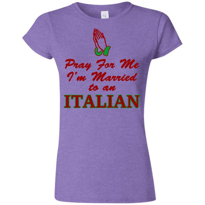 Pray For Italian Husband Shirt