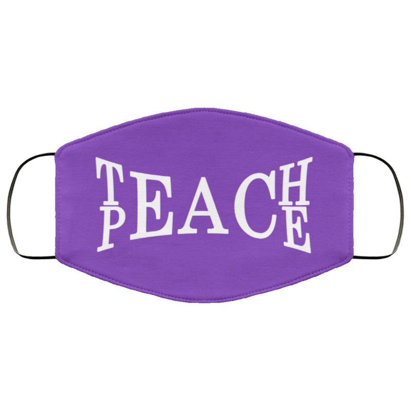 Teach Peace Face Cover