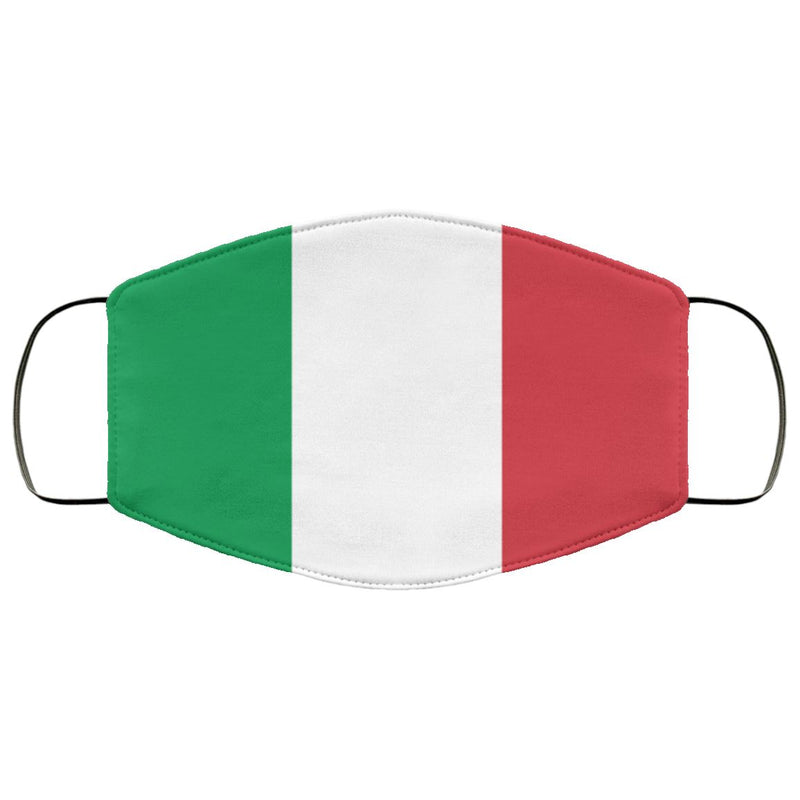 Italian Flag Face Cover