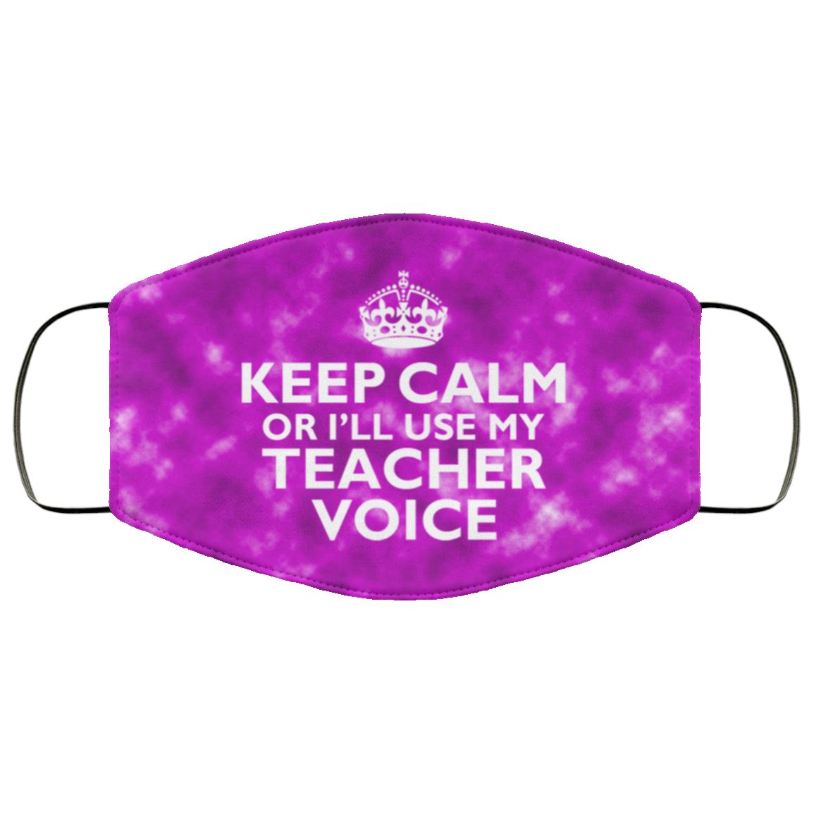Teacher Voice Face Cover
