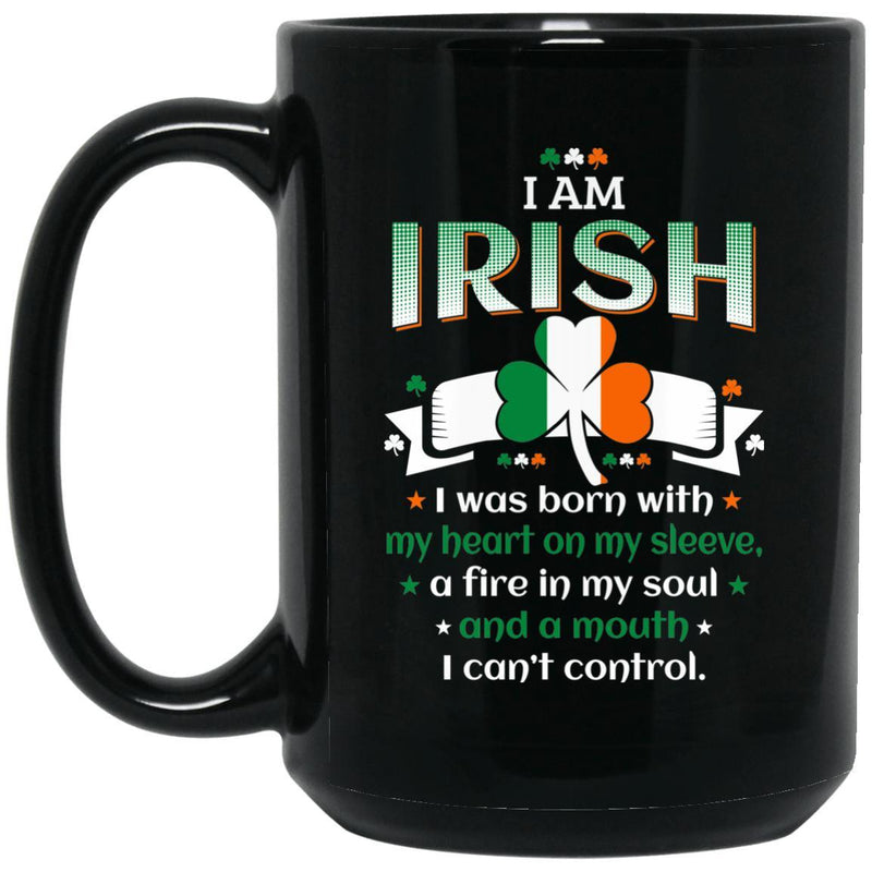 I Am Irish Mugs