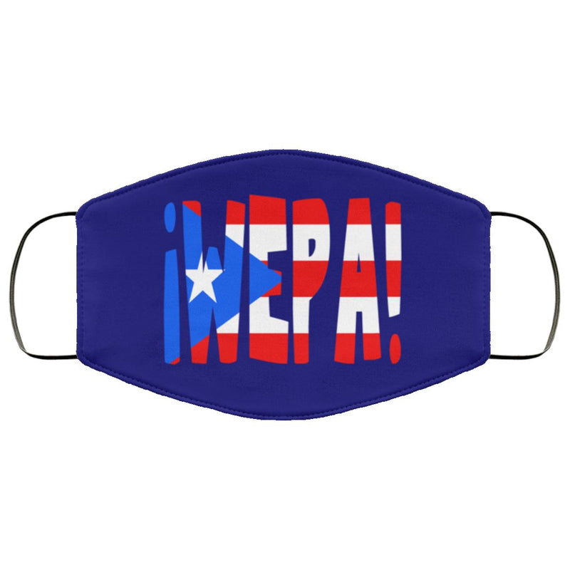 Puerto Rican WEPA Face Cover