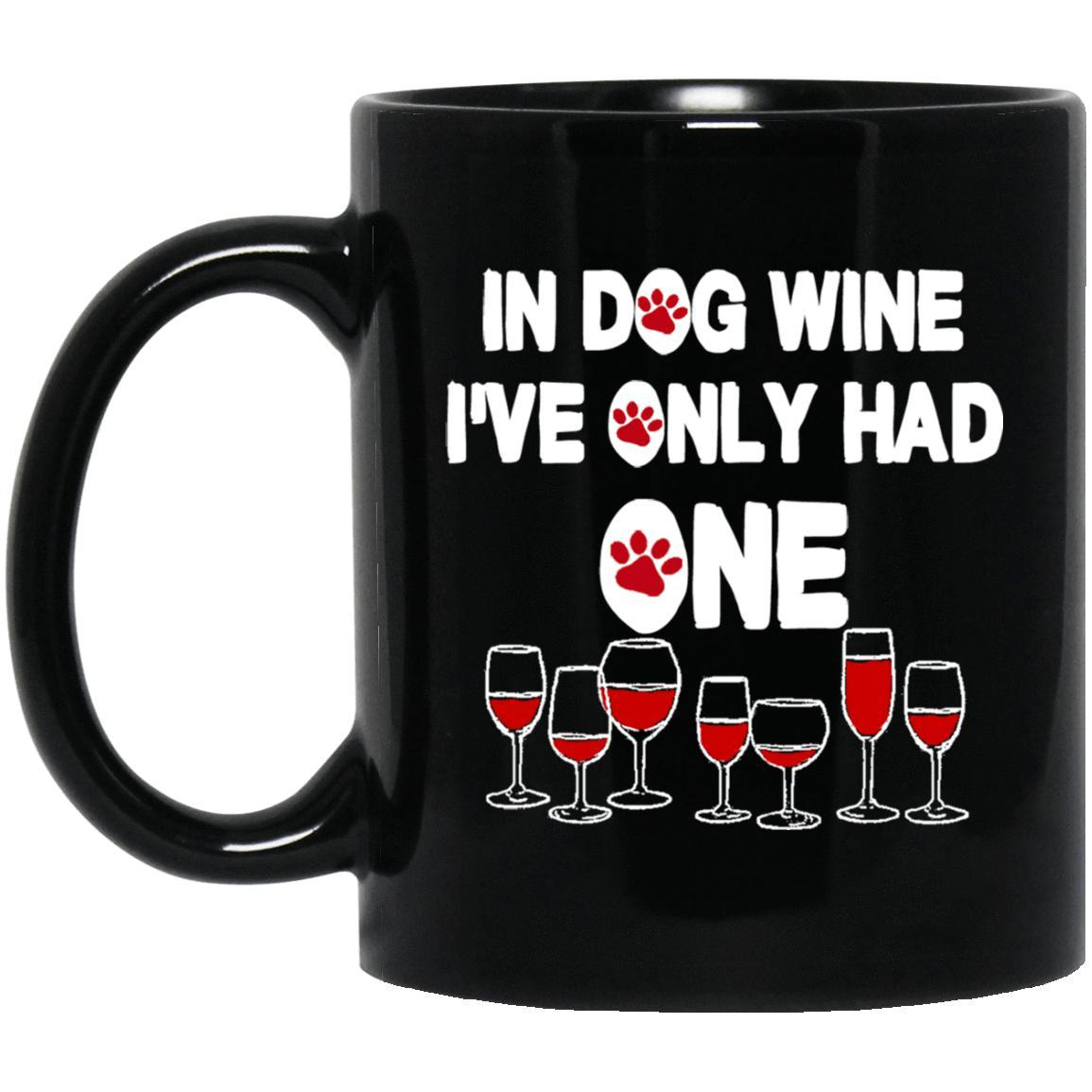 Dog Wine Mugs