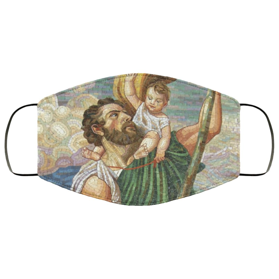 St Christopher Face Cover
