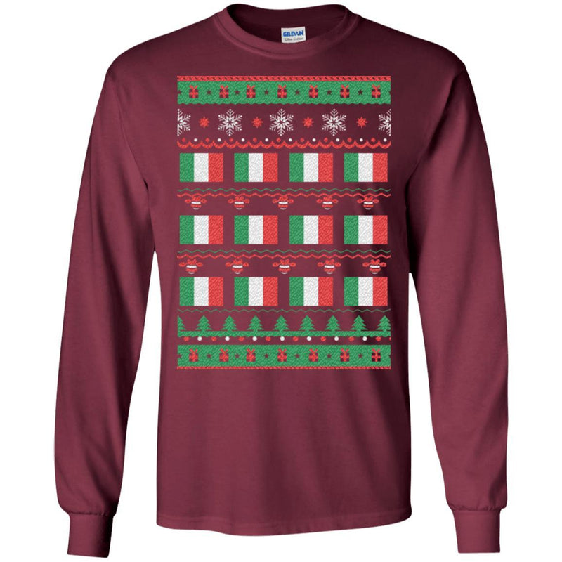 Italian Ugly Christmas Sweater Shirt