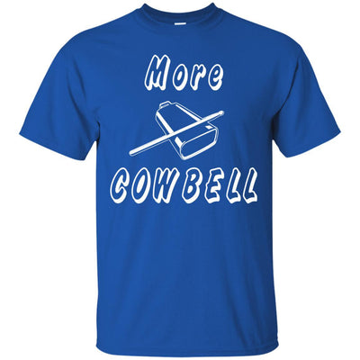 More Cowbell Music Lover Shirt