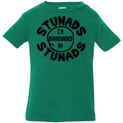 Surrounded By Stunads Kid Shirts