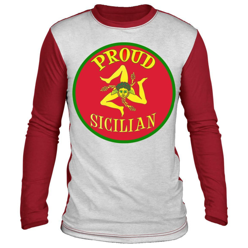 Proud Sicilian Long Sleeve Shirt