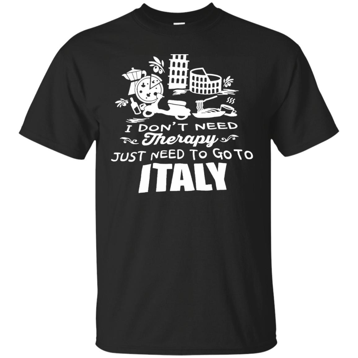 Italian Therapy Shirts Italy travel gift
