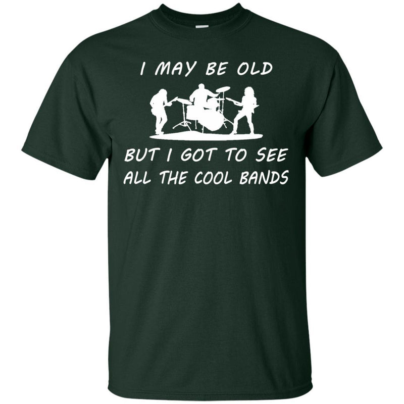 Cool Bands T-Shirt Music Lover Gift