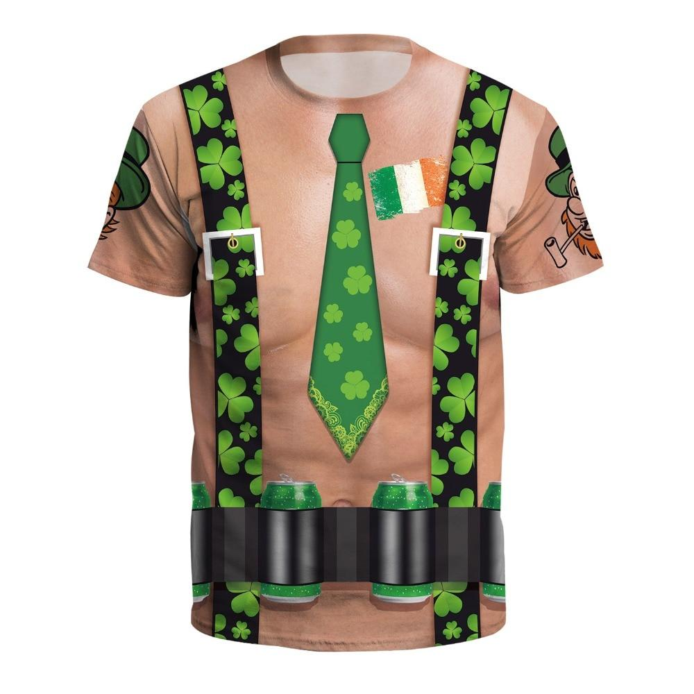 Funny All Over Print St Patrick's Day Shirts