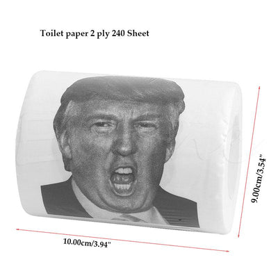 Hot!!! Donald Trump Humor Toilet Paper Roll