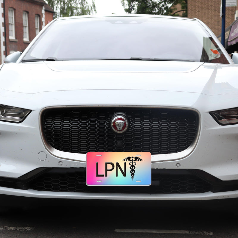 LPN Aluminum License Plate