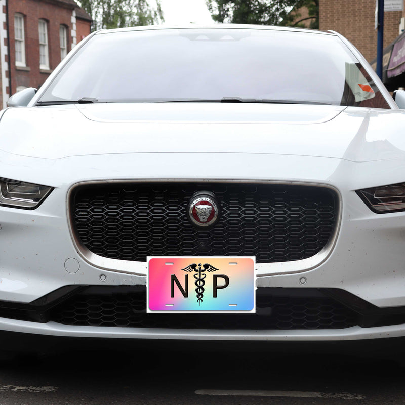 NP - Aluminum License Plate