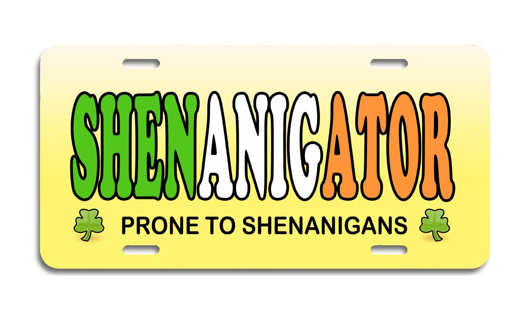 Shenanigator - License Plate