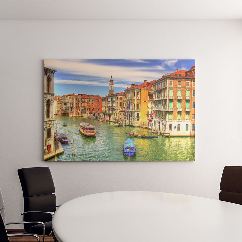 Venice Art Canvas .75in Frame