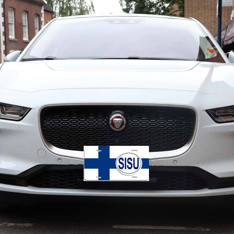 Finnish SISU - Aluminum License Plate