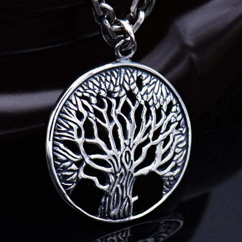 Tree Of Life Necklace Real 925 Sterling Silver