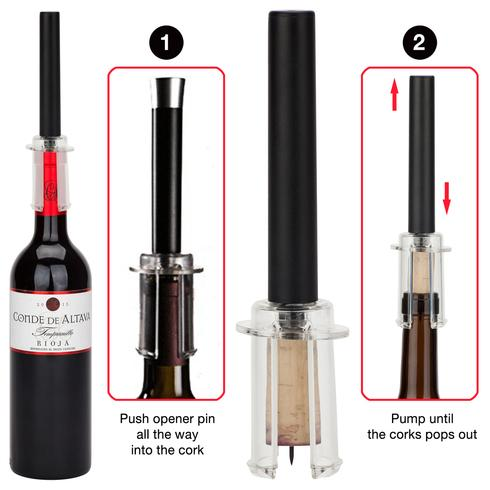 Air Wine Opener - Free Shipping