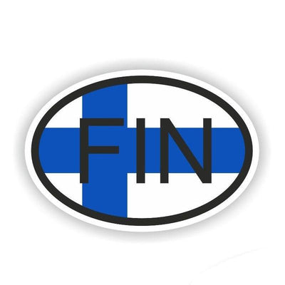 Finland Car Sticker Finnish Pride