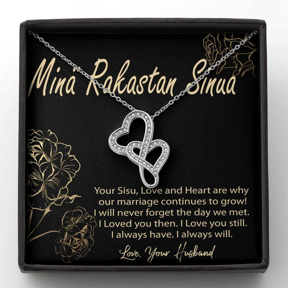 Finnish Valentine Necklace for Wife