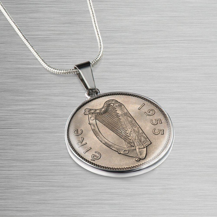 Irish Coin Necklace & Bangle Bracelets - It Is All You Want