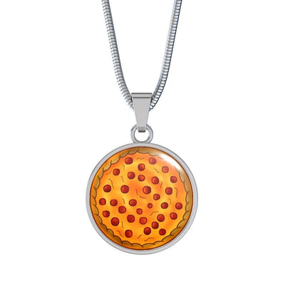 Pizza Jewelry! Keep it with you at all times!
