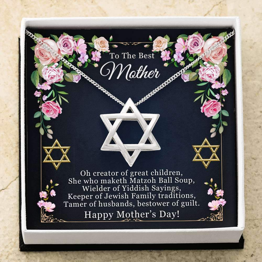 Jewish Mother's Day Necklace