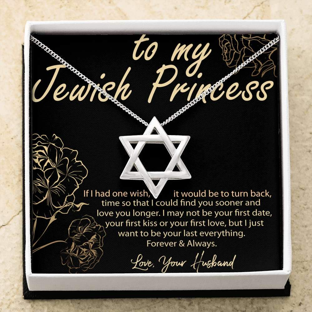 Jewish Princess Valentine Gift - Gorgeous Star of David