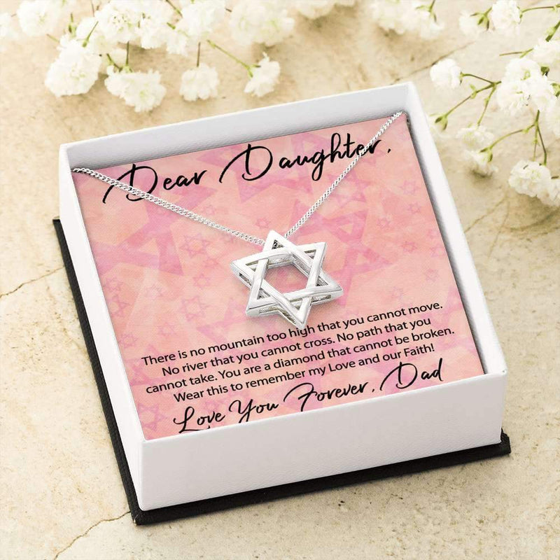 Jewish Valentine Gift for Daughter- Gorgeous Star of David