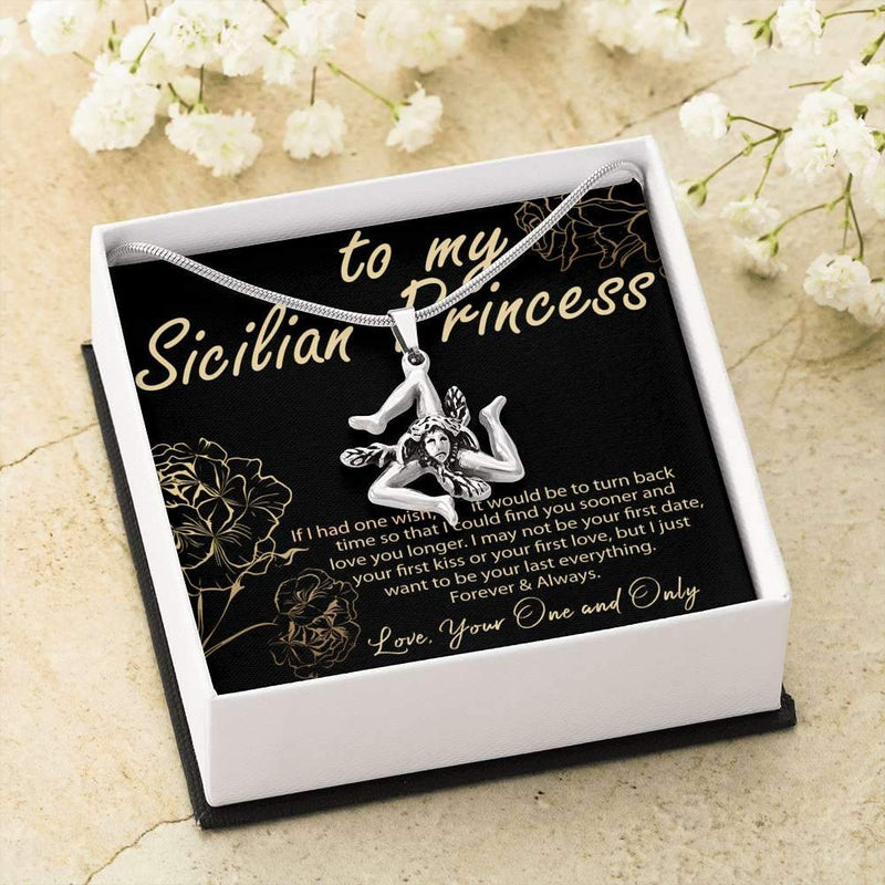 Sicilian Princess Valentine - Card  and Gift Box Included