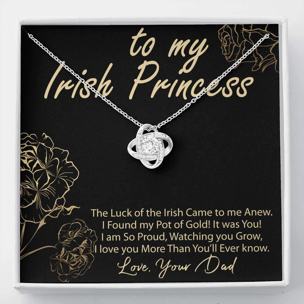 Irish Princess Dad to Daughter Gift